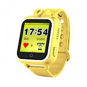 Детские часы с GPS SMART BABY WATCH Q200 Желтые