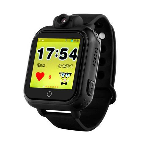 Детские часы с GPS SMART BABY WATCH Q200 Черные, фото 2