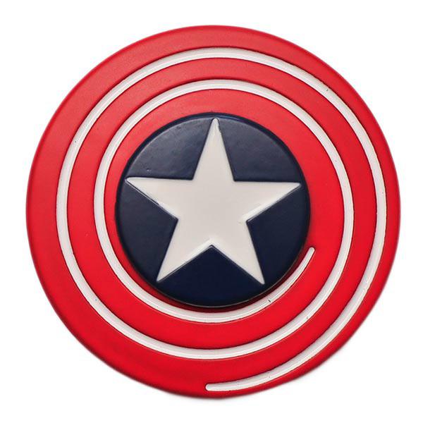 Спиннер Spinner Щит Капитана Америка металл №91