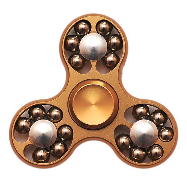 Спиннер Spinner стальной с шариками Золото №57