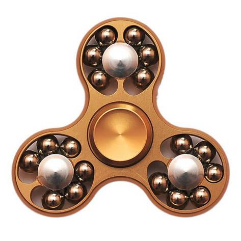 Спиннер Spinner стальной с шариками Золото №57, фото 2