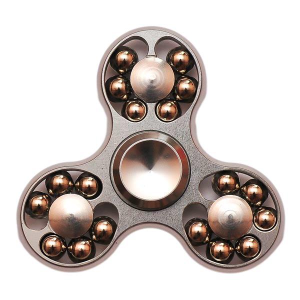 Спиннер Spinner стальной с шариками Серебро №54