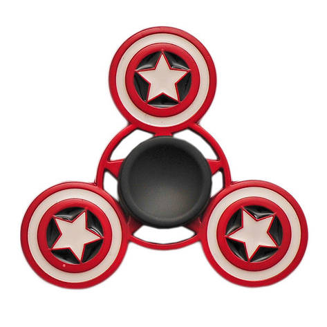 Спиннер Spinner Капитан Америка металл №73, фото 2