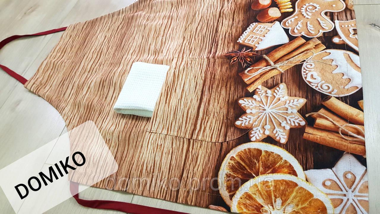 Фартук 3D + полотенце Узбекистан (Имбирные пряники)
