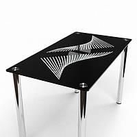 Стол стеклянный Балтика 900