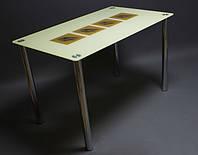 Стол стеклянный Вихрь 1200