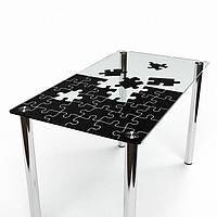 Стол стеклянный Пазл 1200
