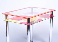 Стол стеклянный Рамка-фотопечать 1200
