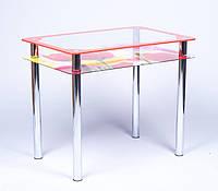 Стол стеклянный Рамка-фотопечать 900