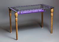 Стол стеклянный Флоренция 1100