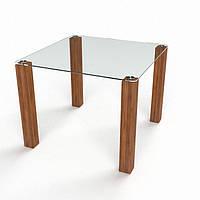 Стол стеклянный Квадратный 1100