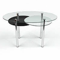 Стол стеклянный Лагуна 1200