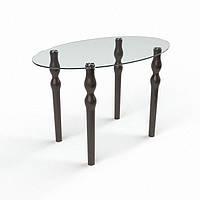 Стол стеклянный Овальный 1200