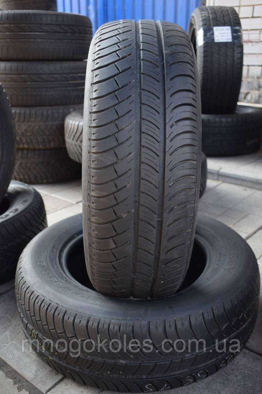 Шины б/у 205/65 R15 Michelin Energy, ЛЕТО, пара, 5-5.5 мм
