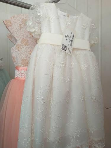 979aa5b5473 Нарядное платье для девочки 80-92р  продажа