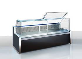 Холодильная витрина Миссури А slim 1,0 ПВХС Д Технохолод & Витрины холодильные среднетемпературные Витрины холодильные