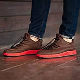 Мужские кроссовки South Aron brown, классические кожаные кроссовки, мужские кожаные кеды , фото 2