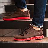 Мужские кроссовки South Aron brown, классические кожаные кроссовки, мужские кожаные кеды , фото 4