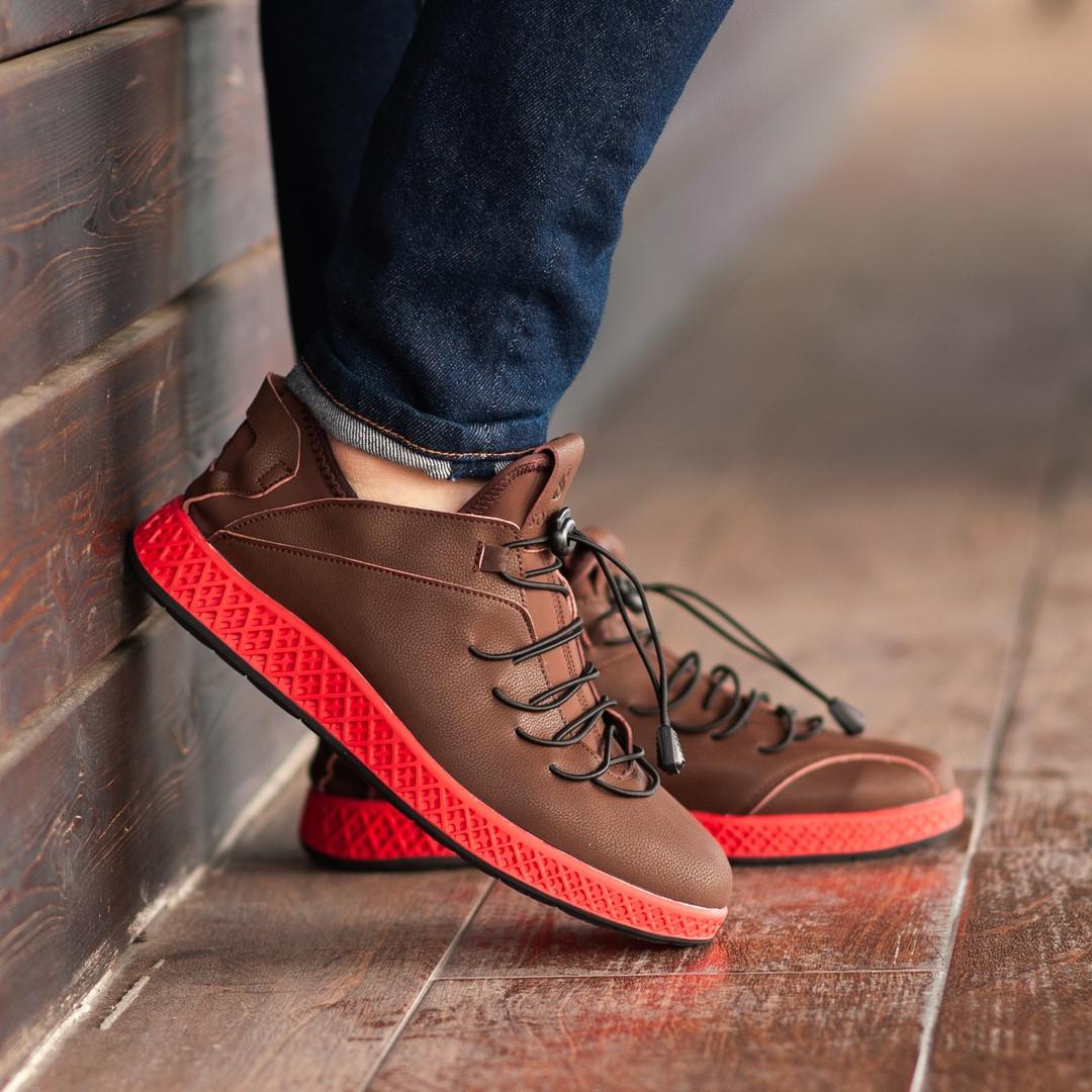 Мужские кроссовки South Aron brown, классические кожаные кроссовки, мужские кожаные кеды