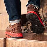 Мужские кроссовки South Aron brown, классические кожаные кроссовки, мужские кожаные кеды , фото 7