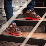 Мужские кроссовки South Aron brown, классические кожаные кроссовки, мужские кожаные кеды , фото 6