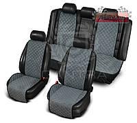 Чехлы CANTRA комплект на все сиденья с ушками ✓ цвет: серый