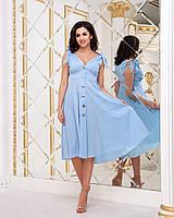 Платье / полированный лён / Украина 36-3998, фото 1