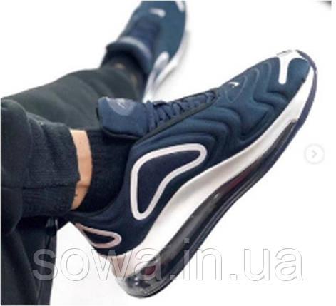 "✔️ Кроссовки Nike Air Max 720 ""Navy""  , фото 2"