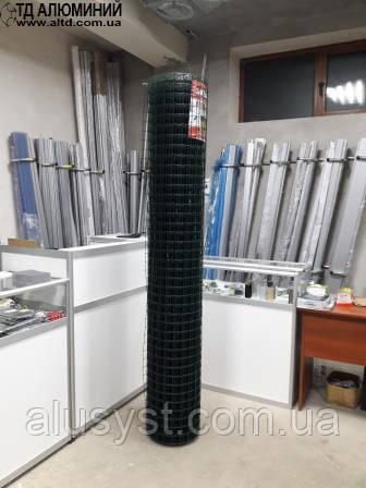 Декоративная сетка для забора - ячейка 50х50 - рулон 1.5х25