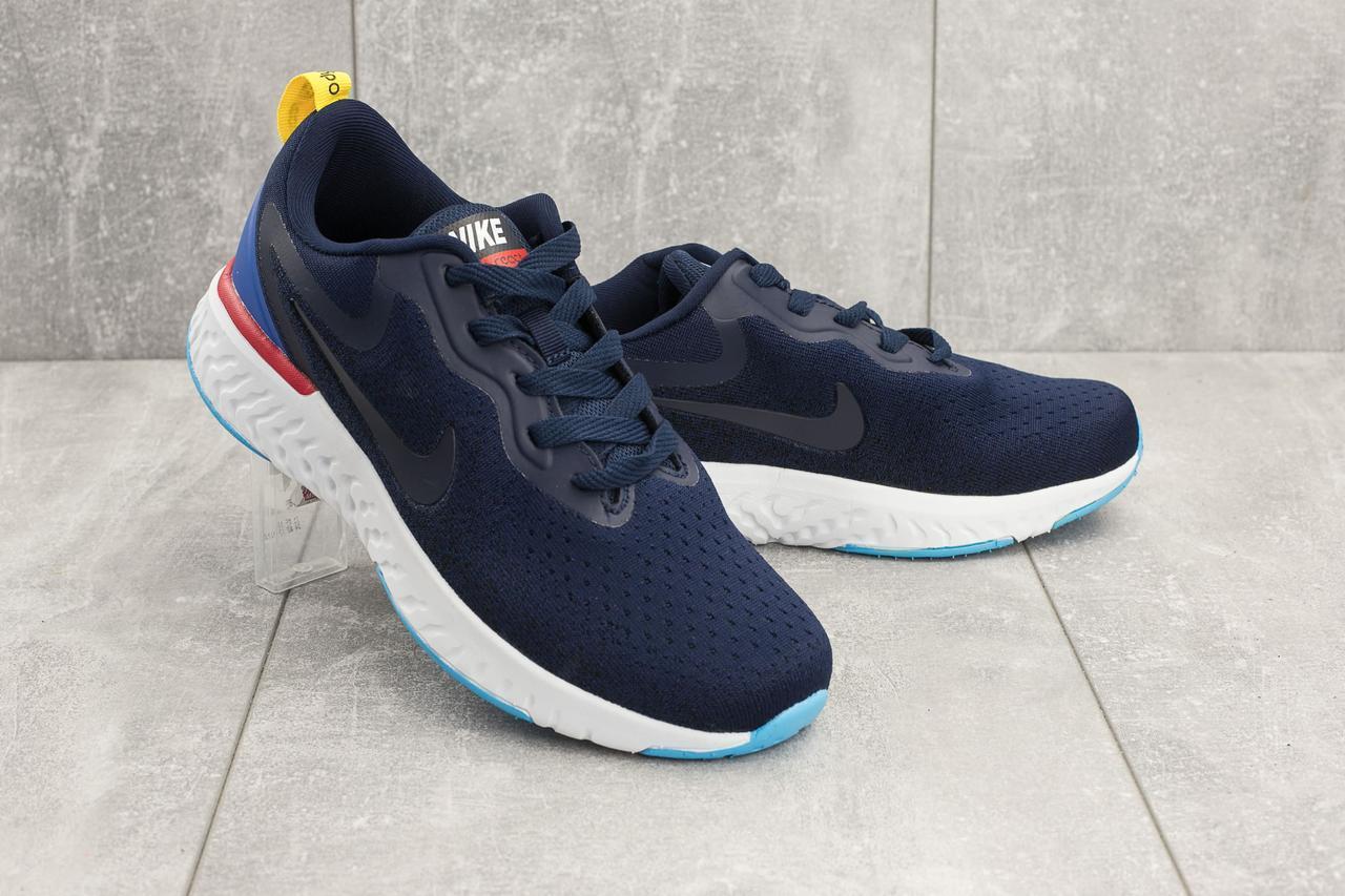 aff5a15aa Кроссовки Nike Epic React мужские текстильные синие A 396-3 - АксМаркет в  Киеве