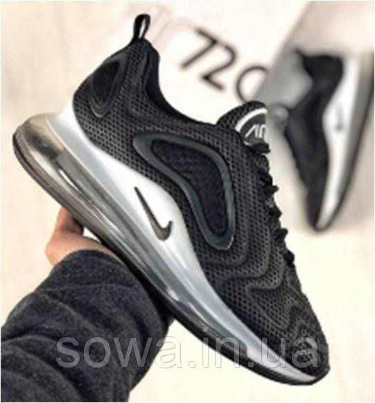 "✔️ Кроссовки Nike Air Max 720 ""Black"""