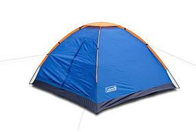 Туристическая палатка Coleman 1012 3-х местная. 1-но слойная