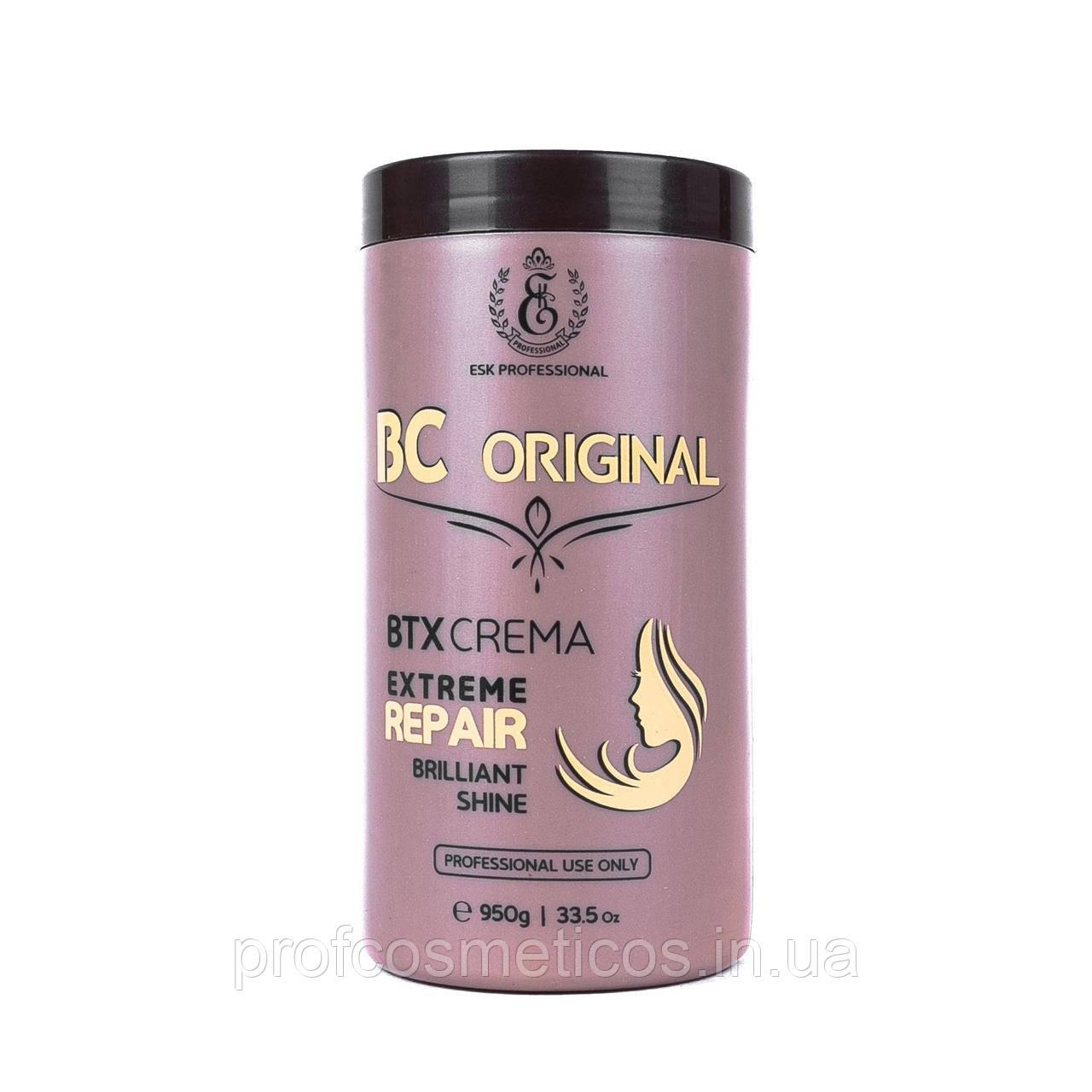 Состав для восстановления волос  BC Original BTX crema 950 мл
