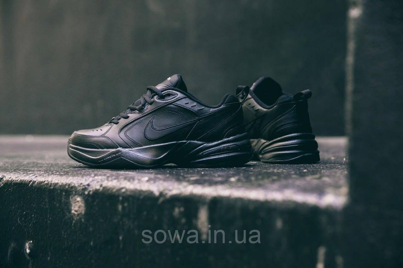 "✔️ Кроссовки Nike Air Monarch IV ""Black"""