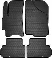 Коврики резиновые Daewoo Lanos 97- (design 2016) 4шт. STINGRAY