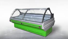 Холодильная витрина Сфера ЭКО 2.5 ПВХС Д Технохолод & Витрины холодильные среднетемпературные Витрины холодильные