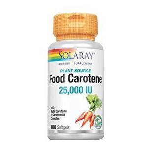 Solaray натуральный каротин из растений 10.000 IU 100 капс