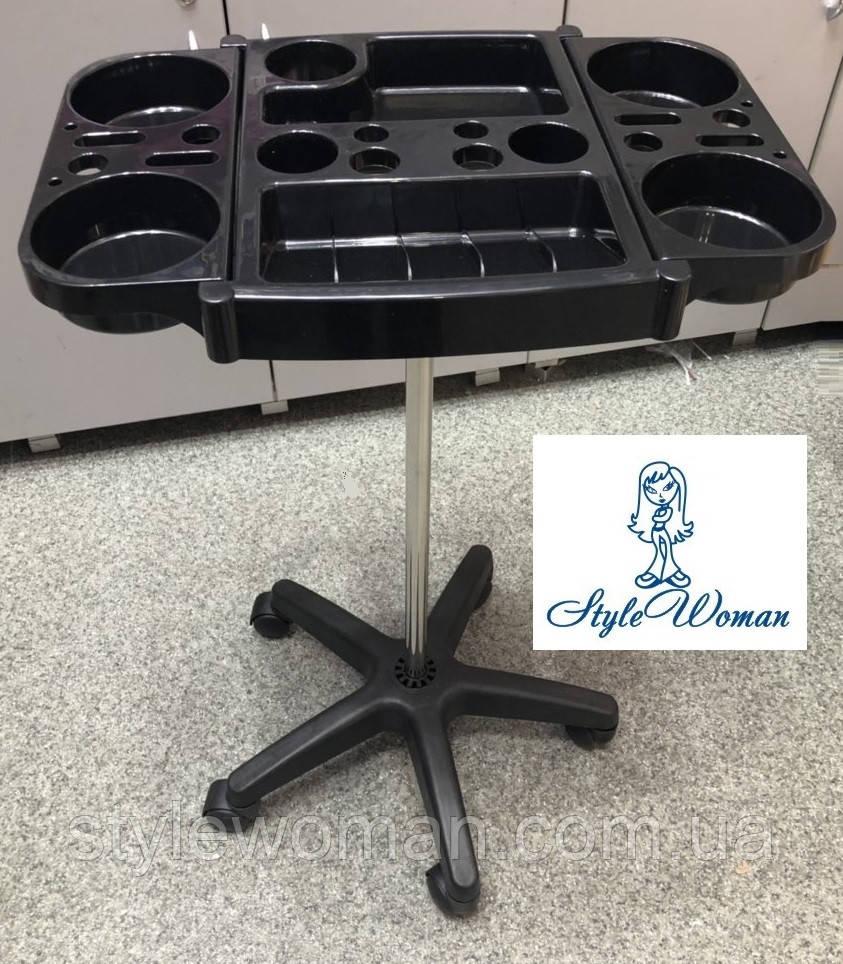Тележка подставка парикмахерская для кисточек и мисок