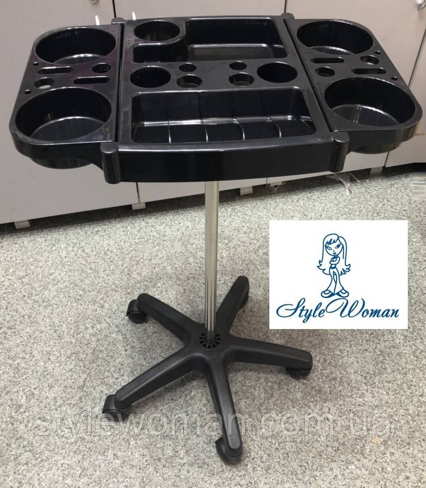 Візок підставка перукарня для пензликів і мисок