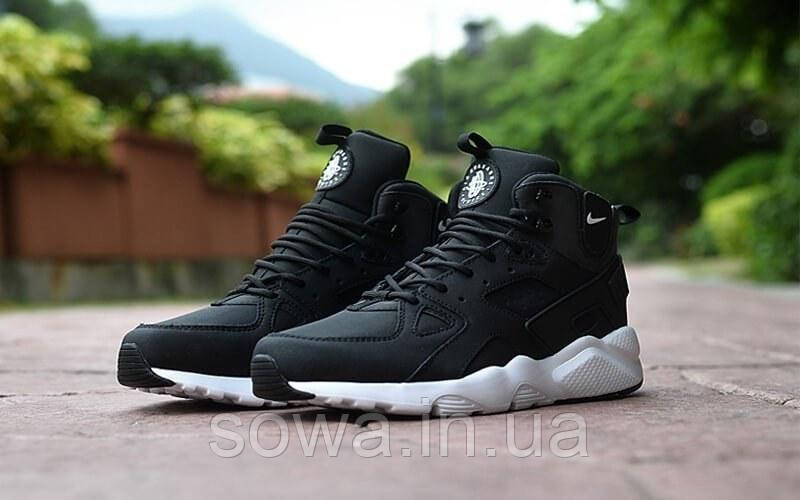 "✔️ Кроссовки Nike Air Huarache Winter ""Black"""