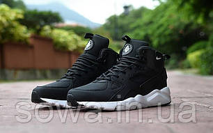 "✔️ Кроссовки Nike Air Huarache Winter ""Black""  , фото 2"
