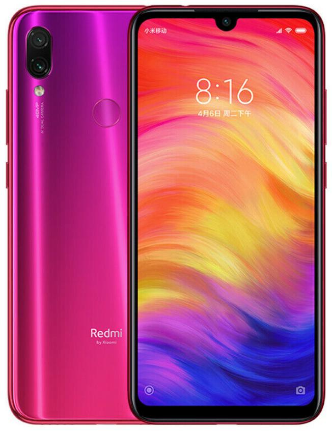 "Xiaomi Redmi Note 7 Nebula Red 3/32 Gb, 6.3"", Snapdragon 660, 3G, 4G"