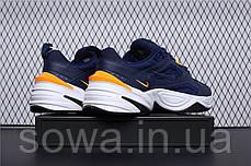"""✔️ Кроссовки Nike M2K Tekno """"Navy/Yellow""""  , фото 3"""