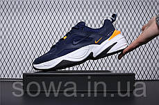 """✔️ Кроссовки Nike M2K Tekno """"Navy/Yellow""""  , фото 2"""