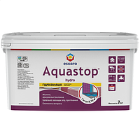 Eskaro Aquastop Hydro Гидроизоляция Голубая 4 кг эластичная мастика, для влажных помещений арт.4810149007527