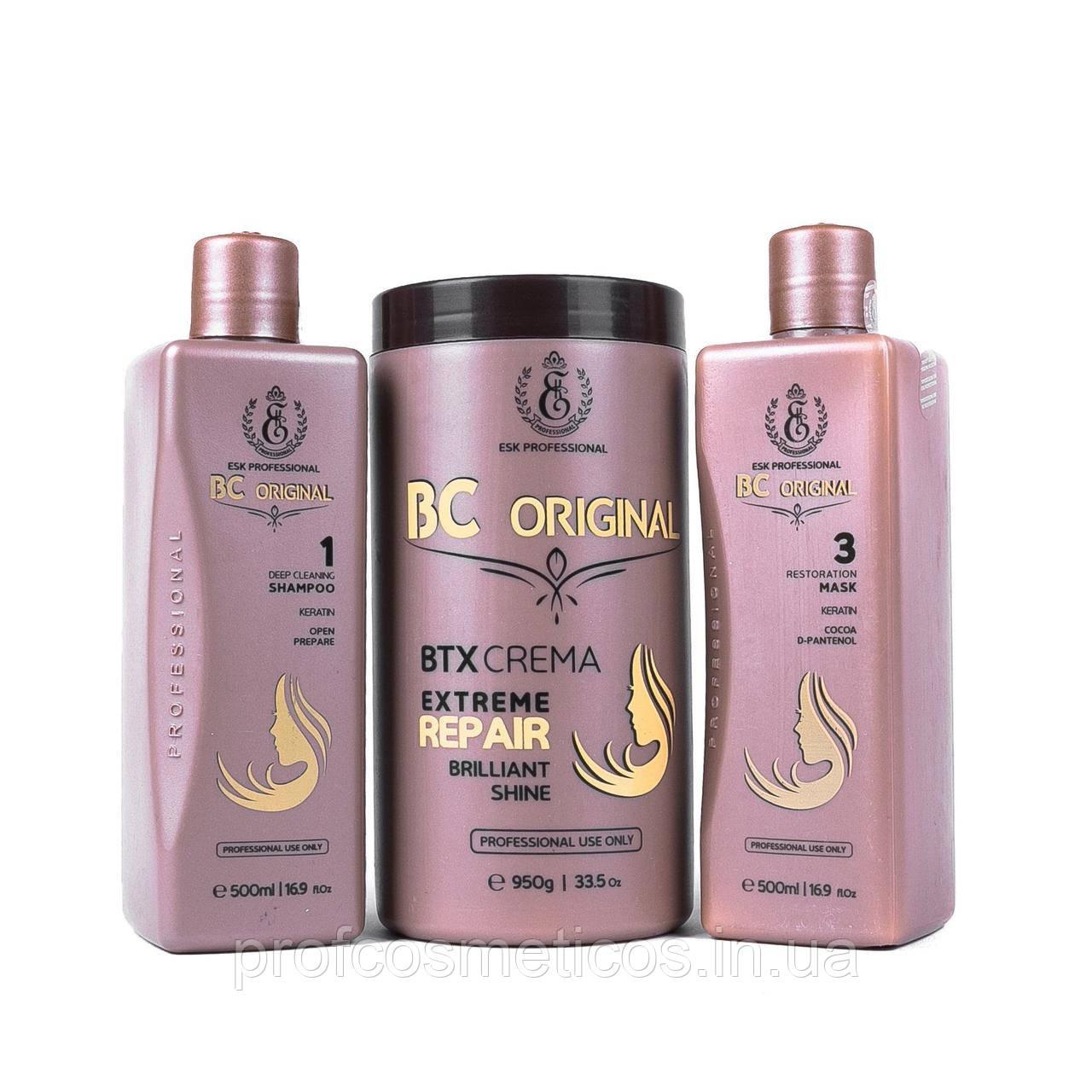 Набор для восстановления волос BC Original BTX crema 1000/950 мл