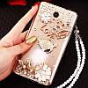 """Samsung S10e G970 оригинальный чехол накладка бампер панель со стразами камнями на телефон """"ROYALER"""", фото 6"""