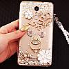"""Samsung S10e G970 оригинальный чехол накладка бампер панель со стразами камнями на телефон """"ROYALER"""", фото 8"""