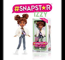 Кукла Snapstar Izzy оригинал шарнирная Иззи с подставкой Снапстар