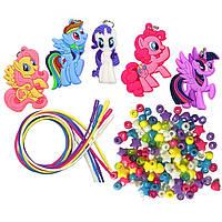 Май литтл пони набор для создания бус My Little Pony Necklace Activity Set